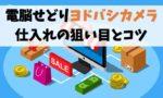 【電脳せどり】ヨドバシカメラの通販サイトで仕入れる方法【狙い目】