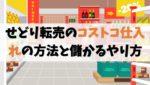 【せどり転売】コストコ仕入れの方法と儲かるやり方【おすすめ商品】
