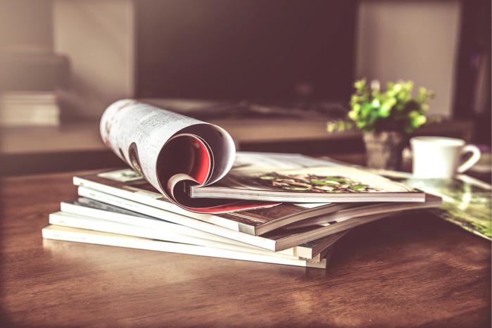本や雑誌に注目しておく