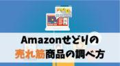 Amazonせどりにおける売れ筋商品の調べ方【急上昇ワードもアツい】