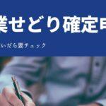 【スルー厳禁】副業せどりの確定申告のやり方と税金の知識